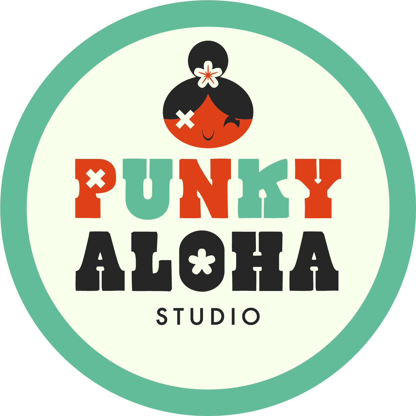 Punky Aloha logo