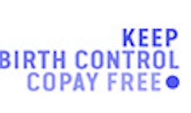 Keep Our Birth Control Free Campaign logo