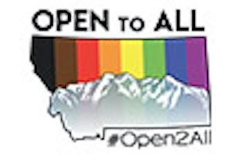 Open to All Montana logo