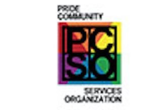 Pride Community Services logo