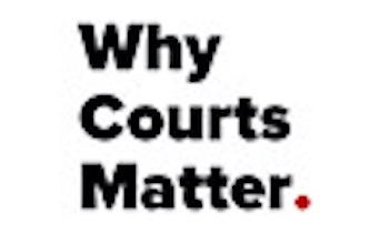 Why Courts Matter logo