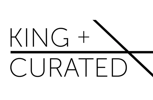 King + Curated logo
