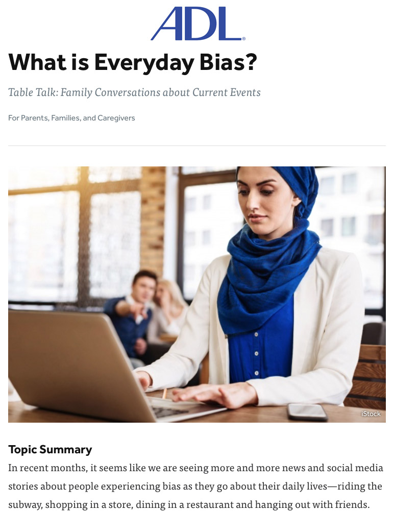 What is Everyday Bias?