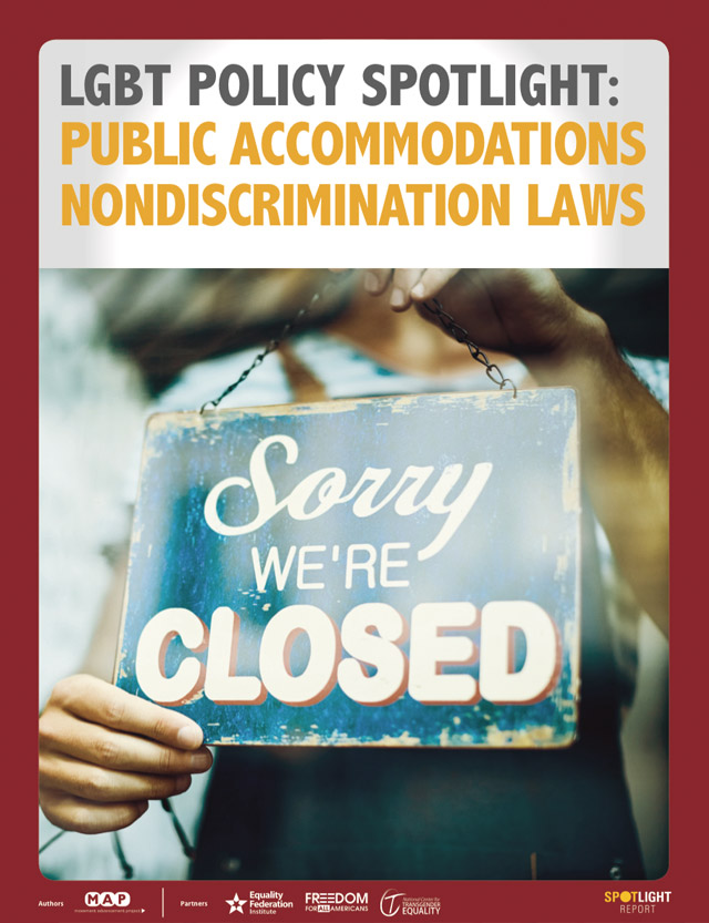 LGBT Policy Spotlight: Public Accommodations Nondiscrimination Laws