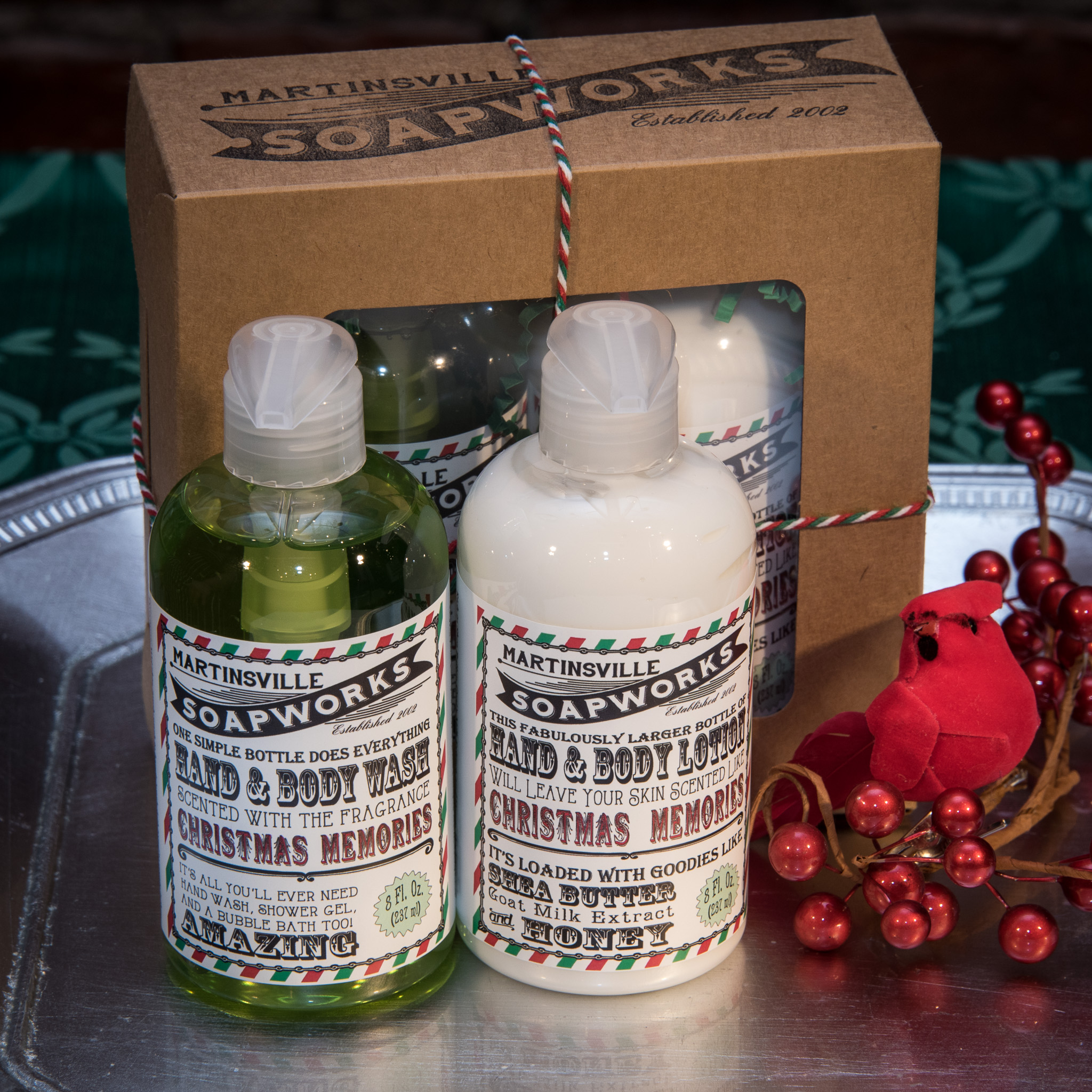 Holiday Hand and Body Giftset