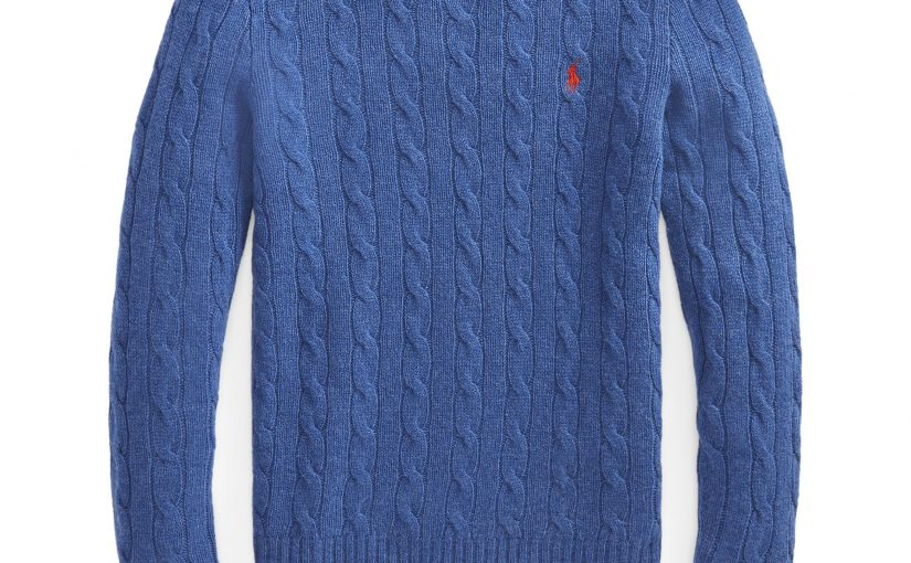 Women's Cable Wool-Blend Sweater