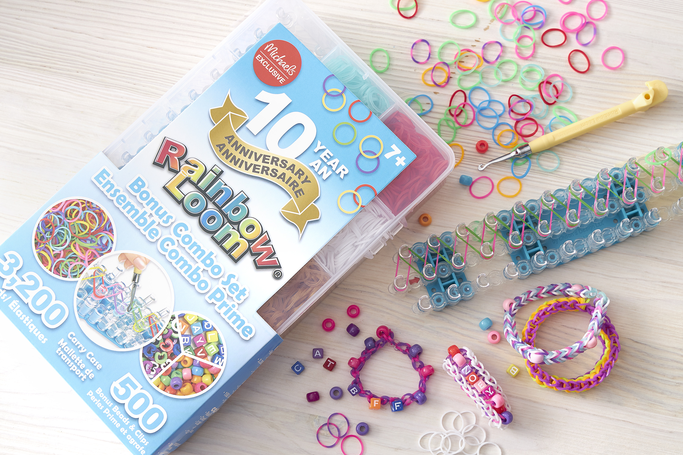 Rainbow Loom Anniversary Combo Kit Image